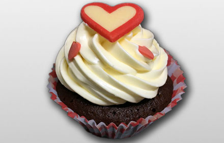 Cupcake de Chocolate con buttercream de chocolate blanco